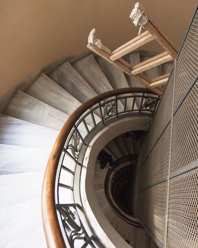 Steps And Staircases Railing Staircase Steps Spiral Built Structure Architecture