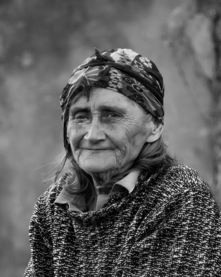 Grandmother Smirnoefoto Photography Photo Live Old Age World Russia