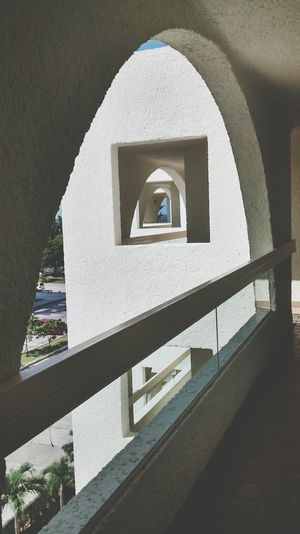 Symmetrical Vacation Hallway Mexico