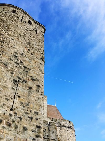 Castle Sky Low Angle View Architecture Built Structure Building Exterior History The Past Blue Outdoors Ancient Building