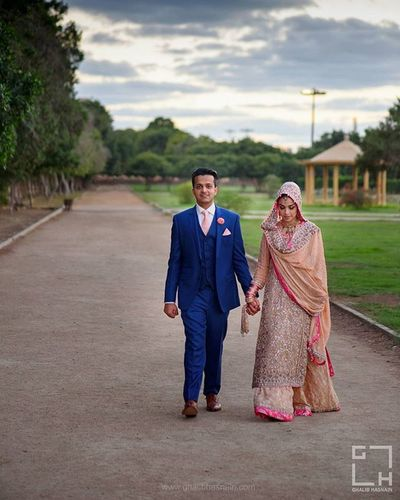 outdoor wedding shoot ThisIsWhatWeDo Weddingdetails Weddingoffer Weddingphotographer Ghalibhasnain Ghalibhasnainphotography Bride Groom KarachiCity Karachi Lovelyweddings Lovelycouply Southasianweddings