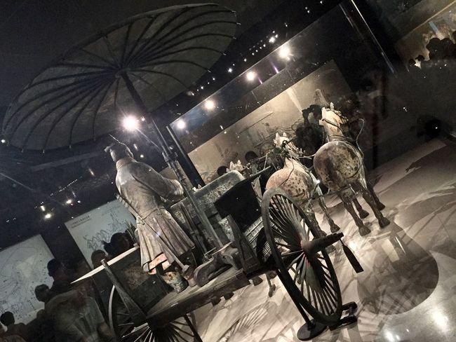 Ancient Artifact Burial Chinese City Life Dark Funeral Glowing History Illuminated Lighting Equipment Night Terra-cotta Warrior