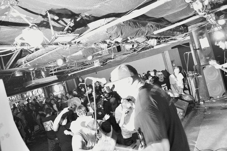 Terror Tom Cats Fort Worth, Texas Hardcore Circlepit Moshpit Noiretblanc Blackandwhite B&w