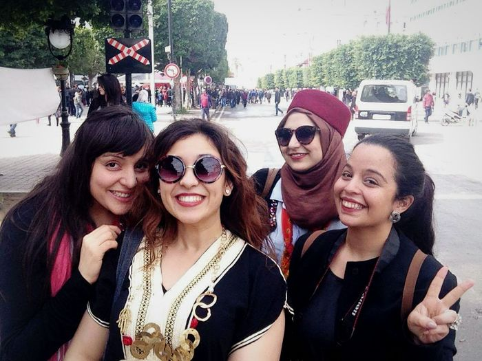 We were celebrating Independence Day ! Tunisia 20/03/2016