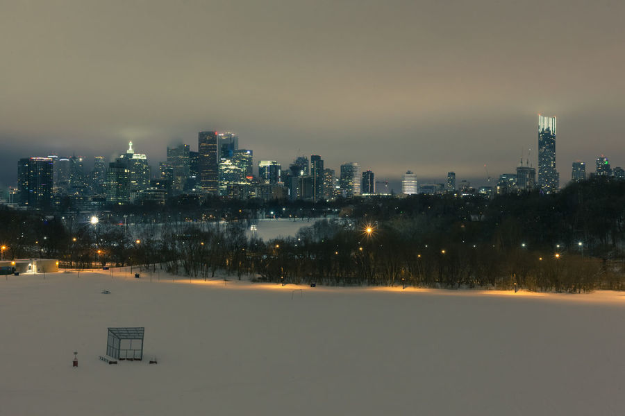 Toronto, Ontario enjoying a white Christmas. Christmas Eve, 2017 Christmas Christmas Eve Skyline Snow ❄ Toronto Architecture Beauty In Nature Building Exterior Built Structure Canada City Cityscape Cold Temperature Day Illuminated Landscape Modern Nature No People Outdoors Sky Skyscraper Snow Tree Winter
