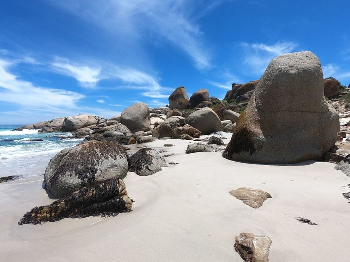 South Africa Wallpaper Beach Paradise Land Sky Solid Sand Tranquility No People Beauty In Nature Water