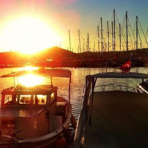 #nature #boat #sea #sunset #summer #love #smile #sun