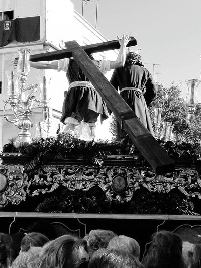 Barrio de San Jerónimo. Sábado de Pasión.