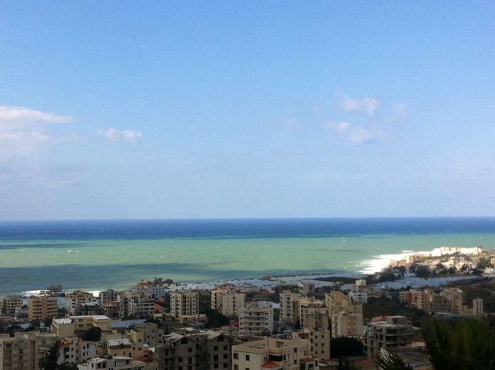 A stormy Mediterranean at BYBLOS, LEBANON A Stormy Mediterranean