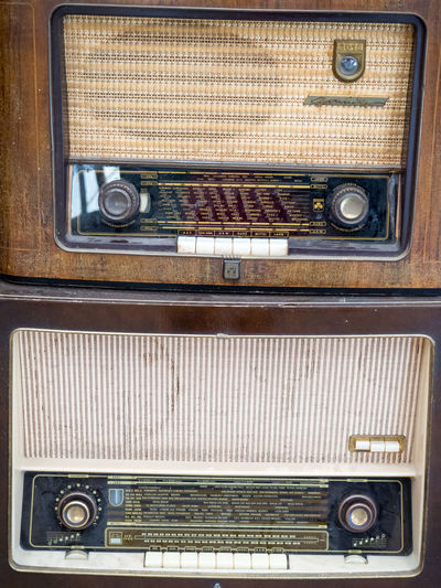 Accuracy Antique Backgrounds Close-up Detail Full Frame Items Machine Part Two Is Better Than One Machinery No People Old Old Items Old-fashioned Part Of Radio Retro Styled The Color Of Technology