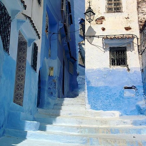 Chefchaouen Marrocco Honeymoon Happyfamily Blue Oldtown Instagood Instalike Followme Travel