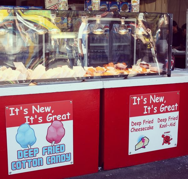 Fair food. Fair Foods Food Candy Fried Red Commercial Sign Retail Display Cottoncandy Cheesecake♥