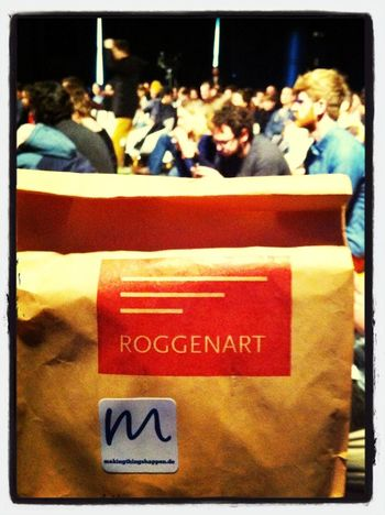 #res13 roggenart - official @making_de catering partner for @resonate_io #lunchbag