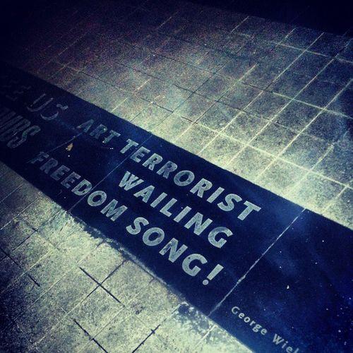 Art Terrorist Wailing Freedomsong georgewielgus publika