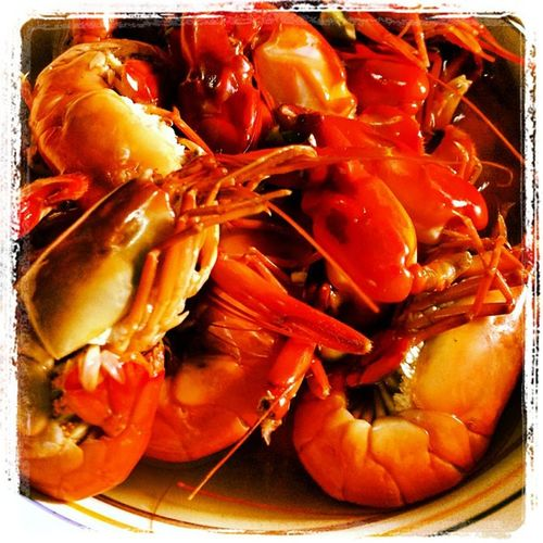 Crawfish is epic! :) Crawfish Crayfish Instapic Marinduque foodporn foodgasm instagram instagraphy manila milan newyork paris london ireland brazil wales