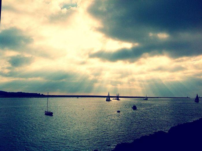 Boats Sunrays IPhoneography EyeEm Porto