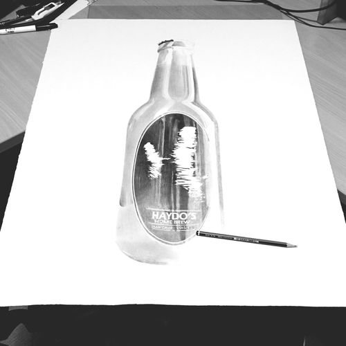 Drawing some beer. First Eyeem Photo