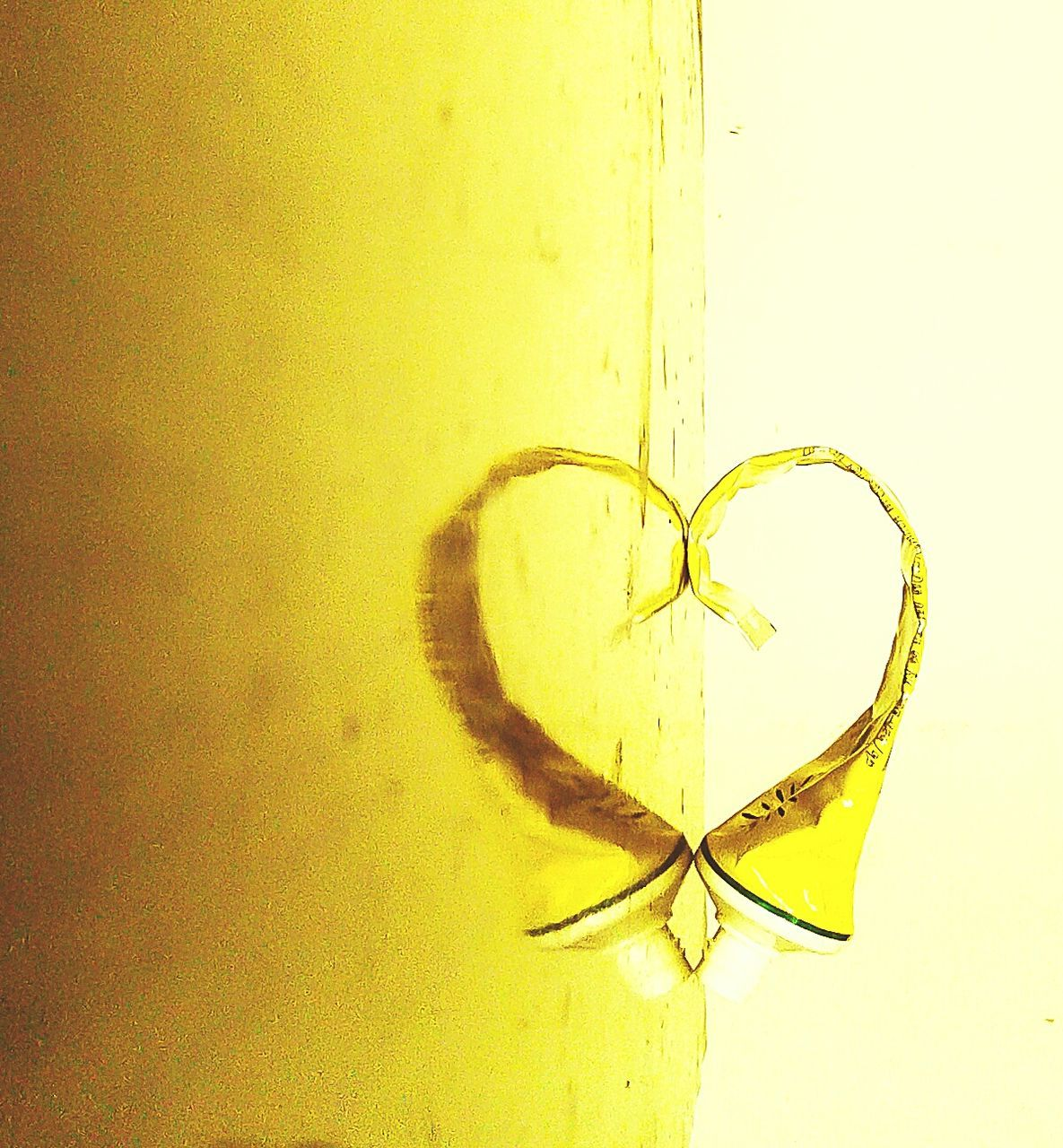 yellow, love, close-up, no people, indoors, day