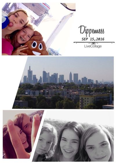 Collage Dippemess Lifestyles Happiness