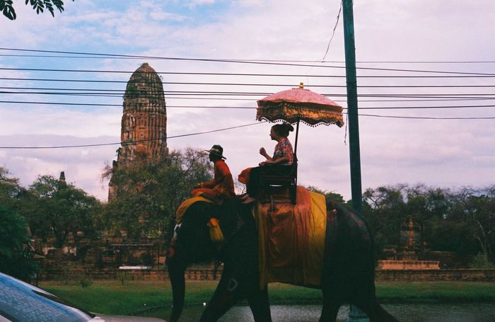 Pha-Na-Korn-Sri-Ayutthaya. Pentax K1000 Fujisuperia200