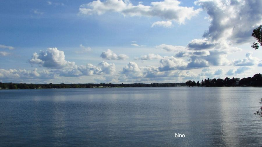Afternòon Shoot Around The Lake Cloud - Sky Tranquility No People Beauty In Nature Reflection_collection Cool_capture_ Lake Cadillac Pure Michigan