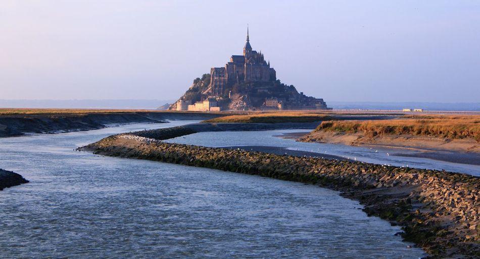 La mont saint Michel Water Travel Destinations Architecture Day