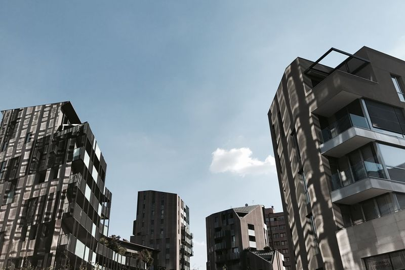 Corso Como Milan Milano Architecture Building Building Exterior Buildings & Sky Built Structure City Day Italy Low Angle View Modern No People Outdoors Porta Nuova Sky