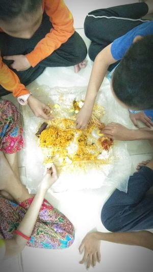 Share the food Human Hand Eat Rice Eating Rice Sharing The Food Eating Together Caring Food Lover Food Unity Brother & Sister Brotherhood Human Hand Togetherness Water Men Multi Colored Women Friendship Close-up Low Section