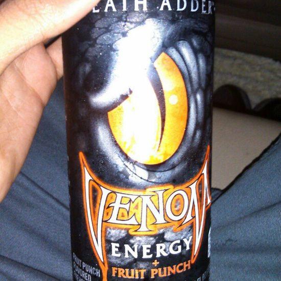 Venom energy drink<3 Venom Tasty Energyswag Thuglyfe swagorgasminmouth