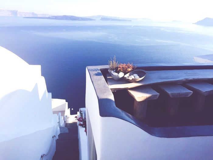 Santorini. Volcano Blue Aegean Sea Santorini Travelphotography Travel Photography Traveling Travel Destinations Travel Greek Islands Greece Sea Day Built Structure Sky Outdoors No People Nature Architecture Beauty In Nature Water Scenics Close-up Whitewashed EyeEm Ready   AI Now EyeEmNewHere