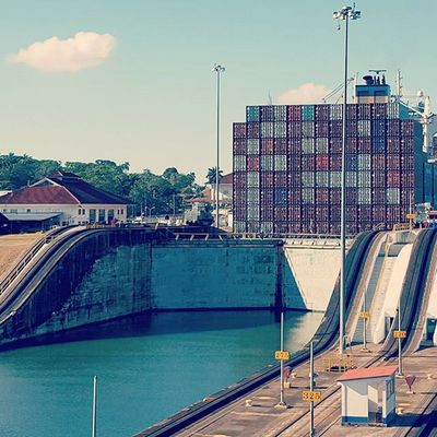 PanamaCanal Locks Gatunlocks