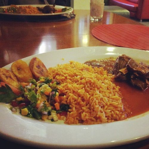 Best kept secret in Manchester, The African Tavern in Newton Street African Cuisine Curriedgoat Food foodgasm manchester My fav dish is the tilapia curry, to die for homemade goodness