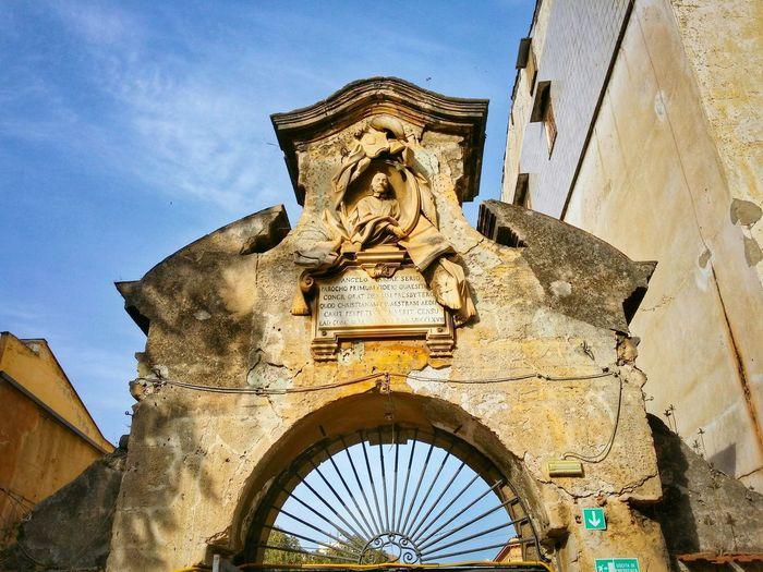 Villa Filippini Palermo Sicily Italy Travel Photography Travel Voyage Traveling Mobile Photography Fine Art Architecture Baroque Gates Mobile Editing