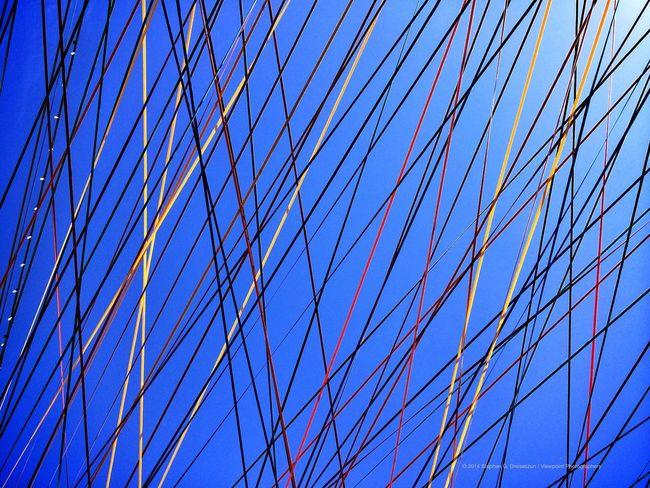 """Spring Crossing"" by Randy Walker at Canal Convergence in Scottsdale, AZ. Eyeem Phoenix Meetup2 Scottsdale Public Art"