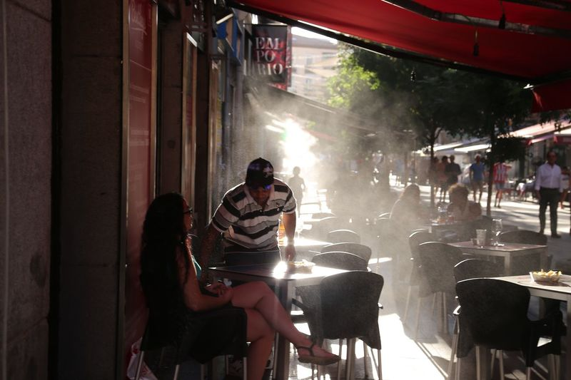 People City View  Situation Unrecognizable People Full Frame Body Part Group Of People Real People Sitting Women Adult Men The Art Of Street Photography Food And Drink Chair People Architecture Seat Table Lifestyles Restaurant Crowd City Built Structure Outdoors