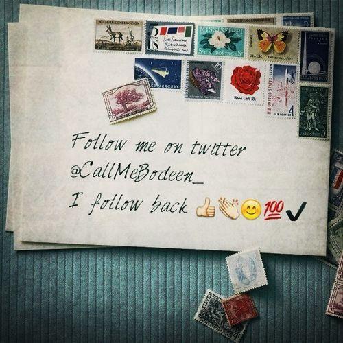 Twitter I Follow Back Follow Me On Twitter  Follow Me On Twitter ❤