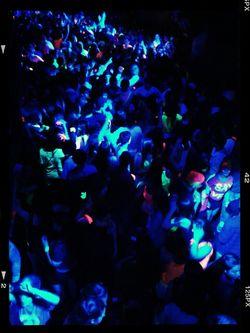Dancing Fluorescent Fest Egresados2013