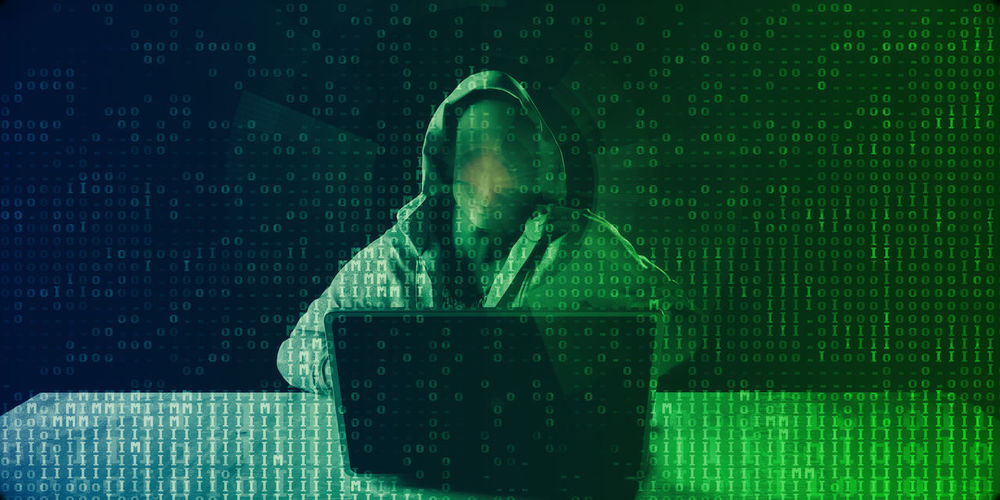 Data Theft and Fraud as a Digital Concept Abstract Data Theft Hacker Online Fraud Identity Theft Online Privacy Hacker Accessing Security Digital