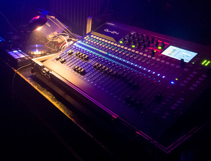 Music Arts Culture And Entertainment Illuminated Sound Mixer Night Nightlife Technology Dj Sound Recording Equipment Popular Music Concert Performance Stage - Performance Space Rock Music Control Panel Nightclub Stereo