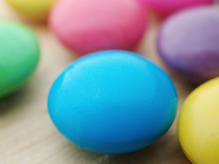 Multi Colored Easter Celebration Blue Easter Egg Close-up Food And Drink Candy Candy Store Candy Heart Marshmallow Sweet Food Chocolate Candy Cane Sweet Egg Dessert Gelatin Dessert