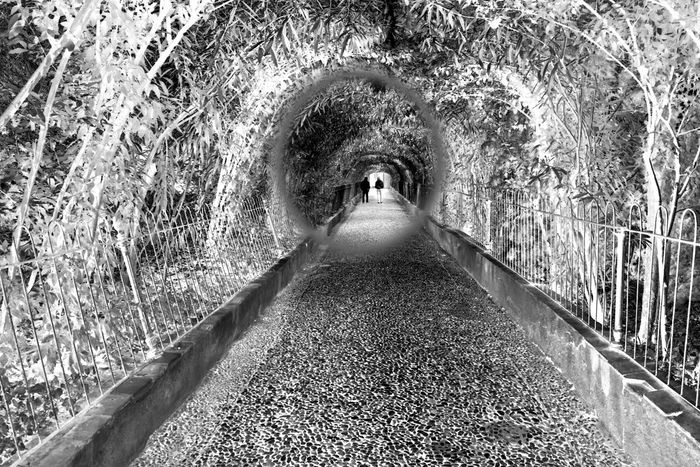 Black & White Black And White Photography Diminishing Perspective Granada Narrow Negative Negative Effect Perspective Perspective Perspective Photography Showcase: January SPAIN Tunnel Vanishing Point Walking Around