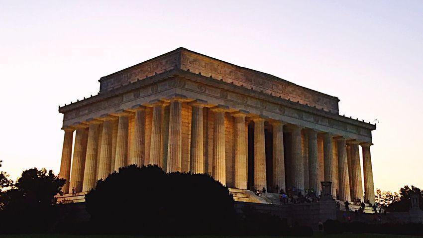 Washington DC Twilight Sky