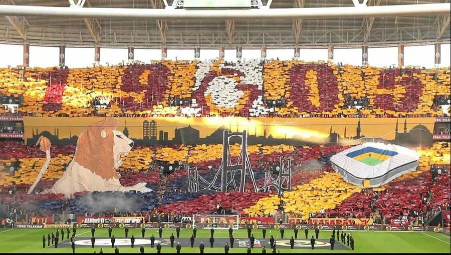 Galatasaray Cimbom 💛❤️ Turktelekomarena 1905 Ttarena Sarikirmizi UCL