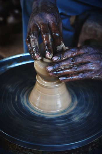 Potter's hand