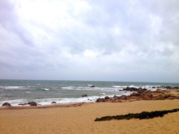 Walking... Enjoytheocean Beach Sea