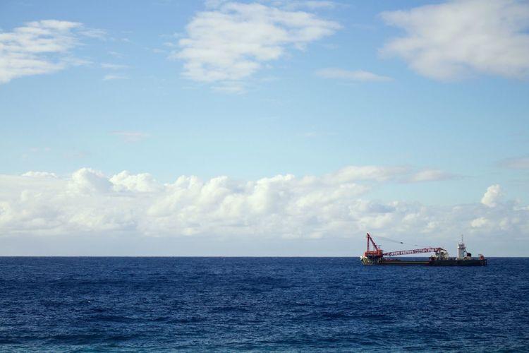 Eoskissx7i Canon Taking Photos Sea Ship 八丈島 OpenEdit Hachijo-island Hachijojima Relaxing Nature Water