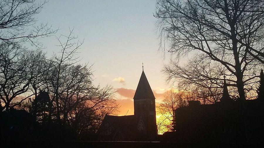 Sunset Spring Church Hamburg
