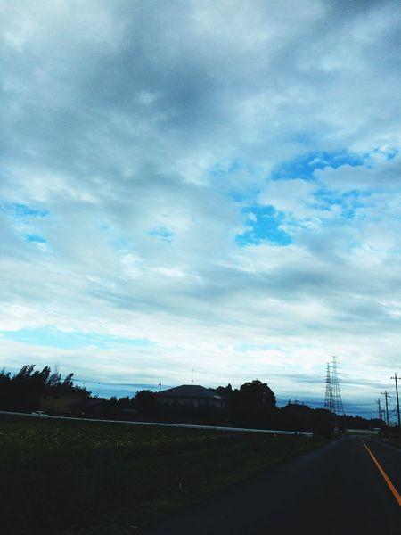 Sky Blue 雨上がり 雨上がりの空