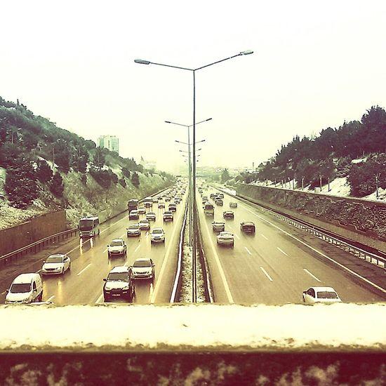 Showcase: January Hello World Snow Istanbul Turkey Bostancı