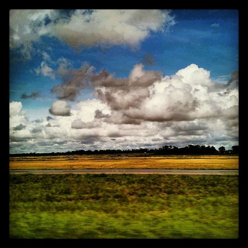 Clouds Sky Landscape Colors Fields Golden Moment Louisiana Shelly